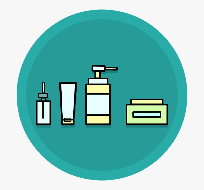 Skincare Cosmetics Bath Cream Beauty Bottles Transparent Skin Care Clip Art Hd Png Download Transparent Png Image Pngitem