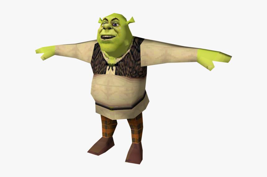 Shrek T Pose Meme Hd Png Download Transparent Png Image Pngitem