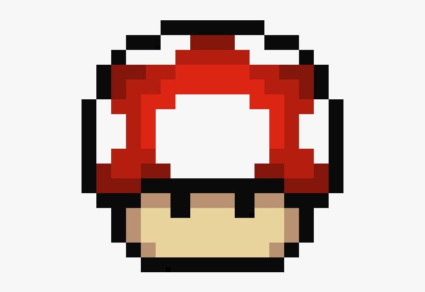 Clip Art Mushroom Pixel Pixel Art Mario Mushroom Hd Png