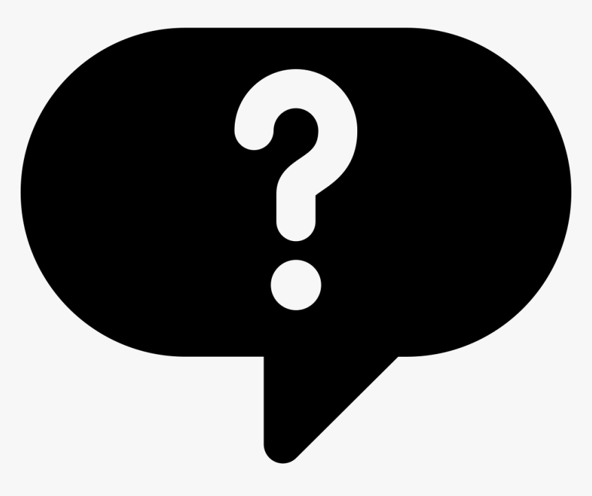 Question Mark Bubble Png