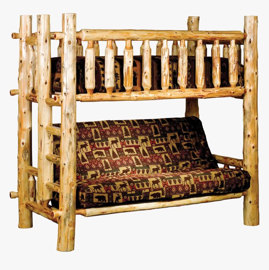 Log Bunk Bed Futon Hd Png