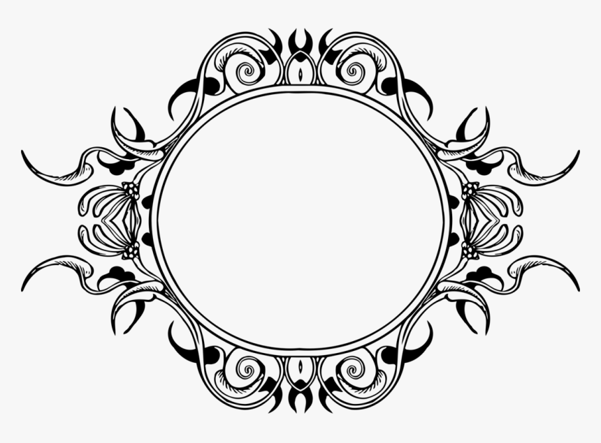 computer icons oval ornament drawing picture frames bingkai bunga hitam putih hd png download transparent png image pngitem computer icons oval ornament drawing