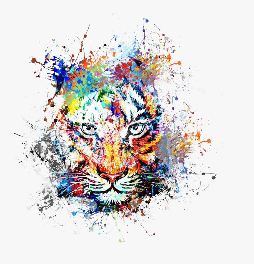 Tiger Art Abstract Painting Png Free Photo Abstract Painting Png Transparent Png Transparent Png Image Pngitem