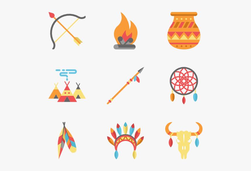 color american indigenous elements