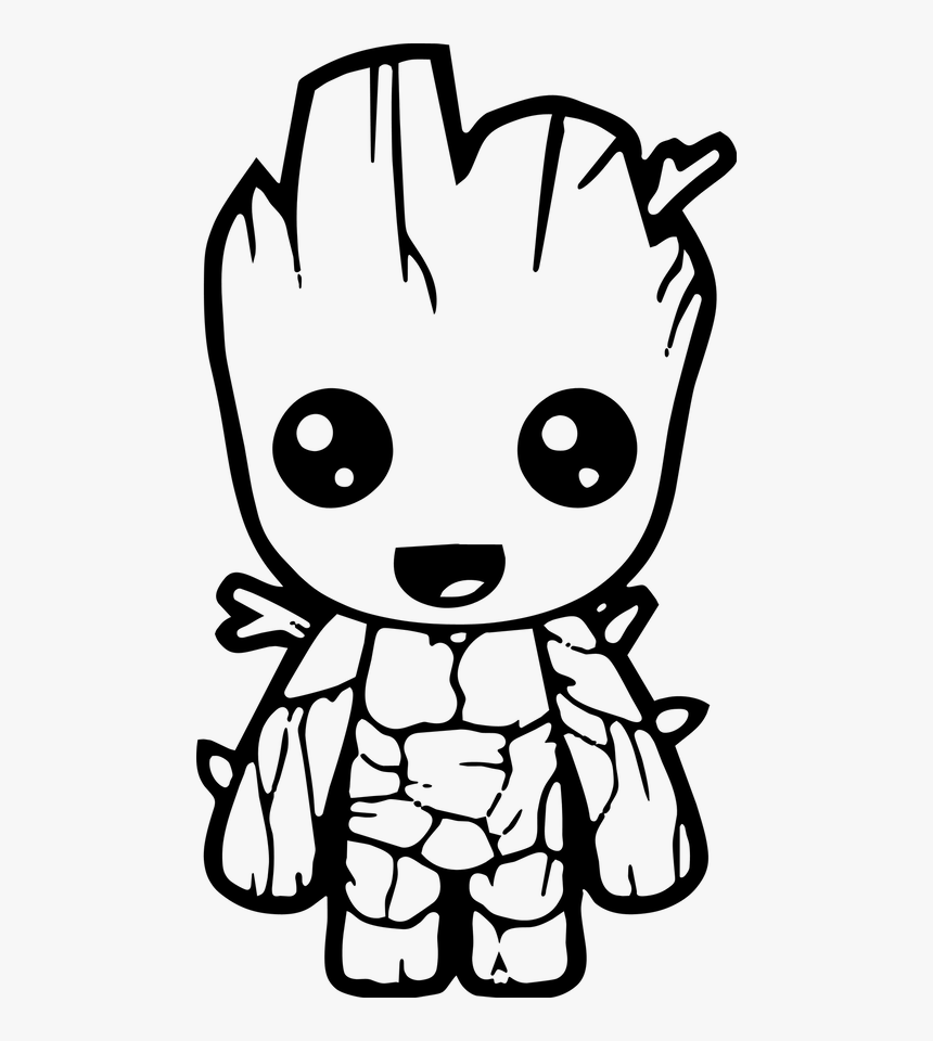 Cute Avengers Coloring Pages , Png Download - Marvel ...