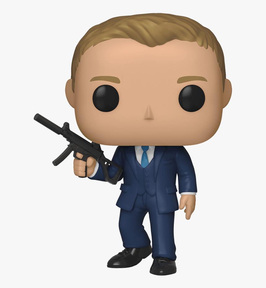 James Bond Funko Pop Daniel Craig Hd Png Download
