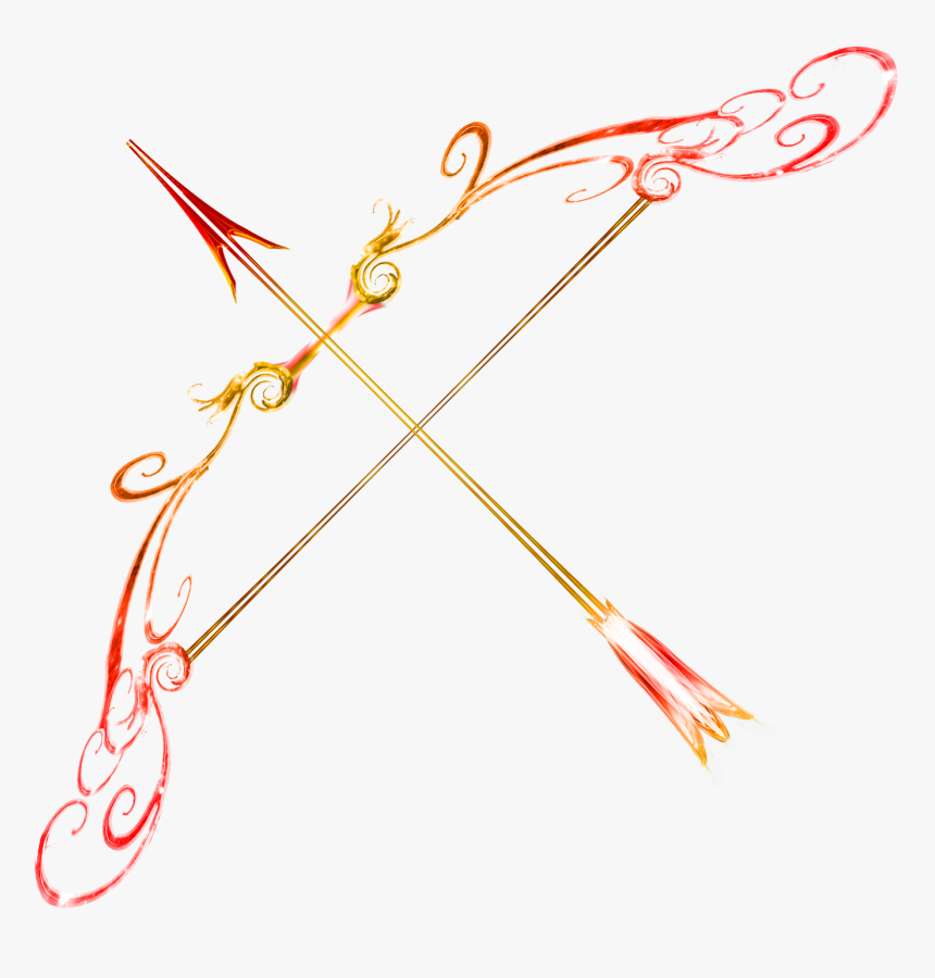 Arrow Bow Png Download Image - Fire Bow And Arrow, Transparent Png ...