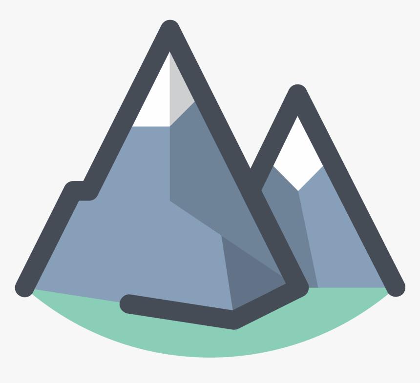 Transparent Clipart Montagne Mountain Icon Hd Png Download Transparent Png Image Pngitem