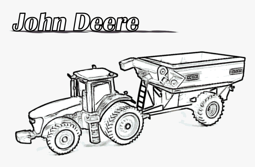 Free Printable Tractor Coloring Pages For Kids | 562x860