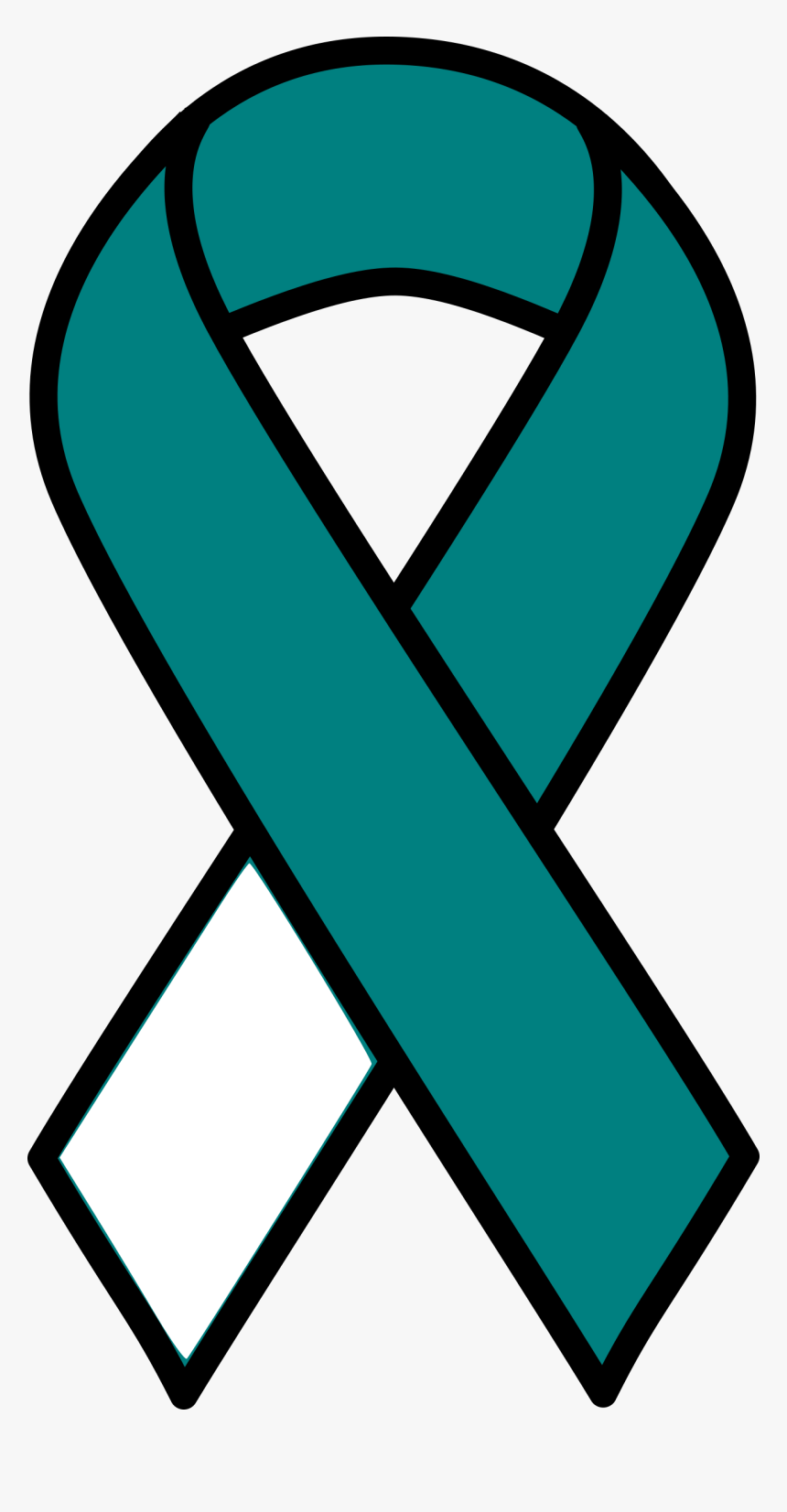 Cervical Cancer Ribbon Clip Arts Thyroid Cancer Ribbon Svg Hd Png Download Transparent Png Image Pngitem