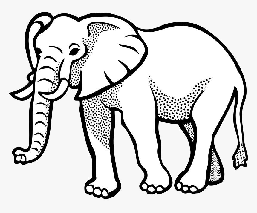 Elephant In Line Art Hd Png Download Transparent Png Image Pngitem Black and white drawings to color. art hd png download transparent png