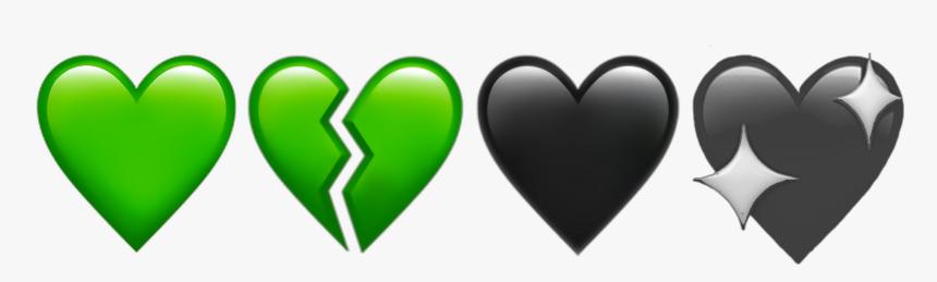 79 799846 green hearts heart broken brokenheart aesthetic broken purple