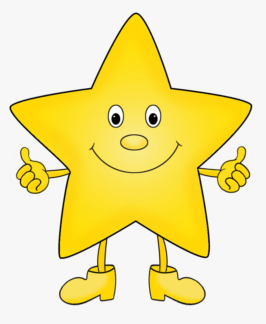 Star Clipart Happy Face - Cartoon Star Clip Art, HD Png Download ...