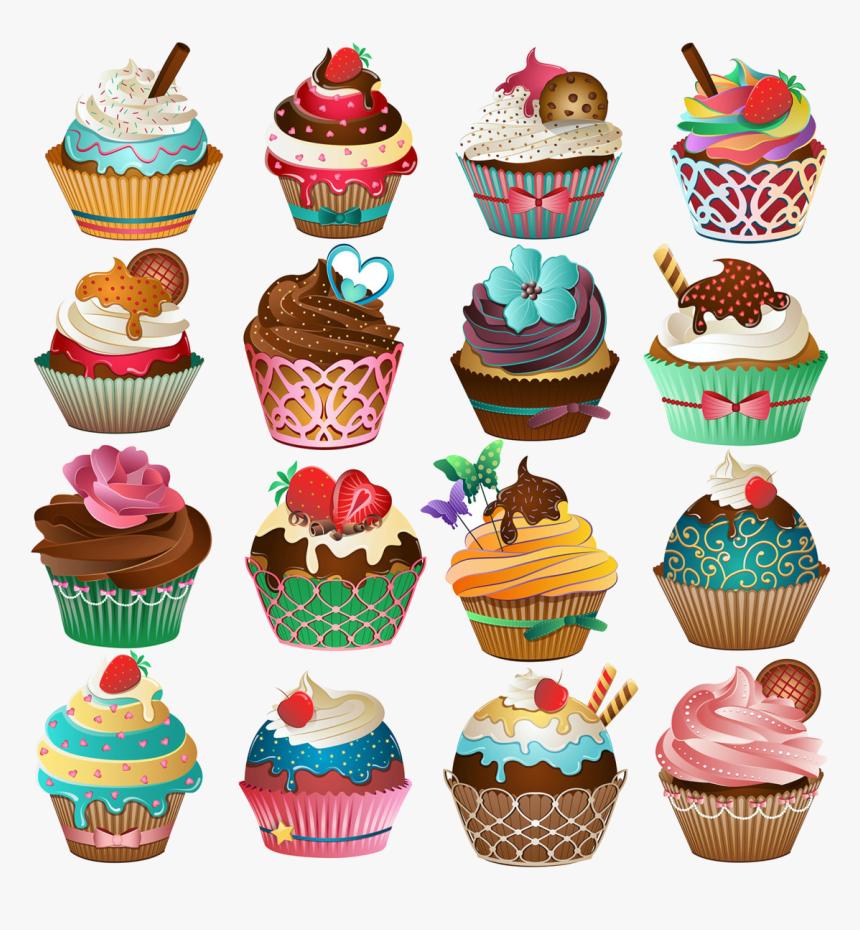 Cupcake Free Printable Clipart And Coloring Pages Transparent Cute Cupcake Hd Png Download Transparent Png Image Pngitem