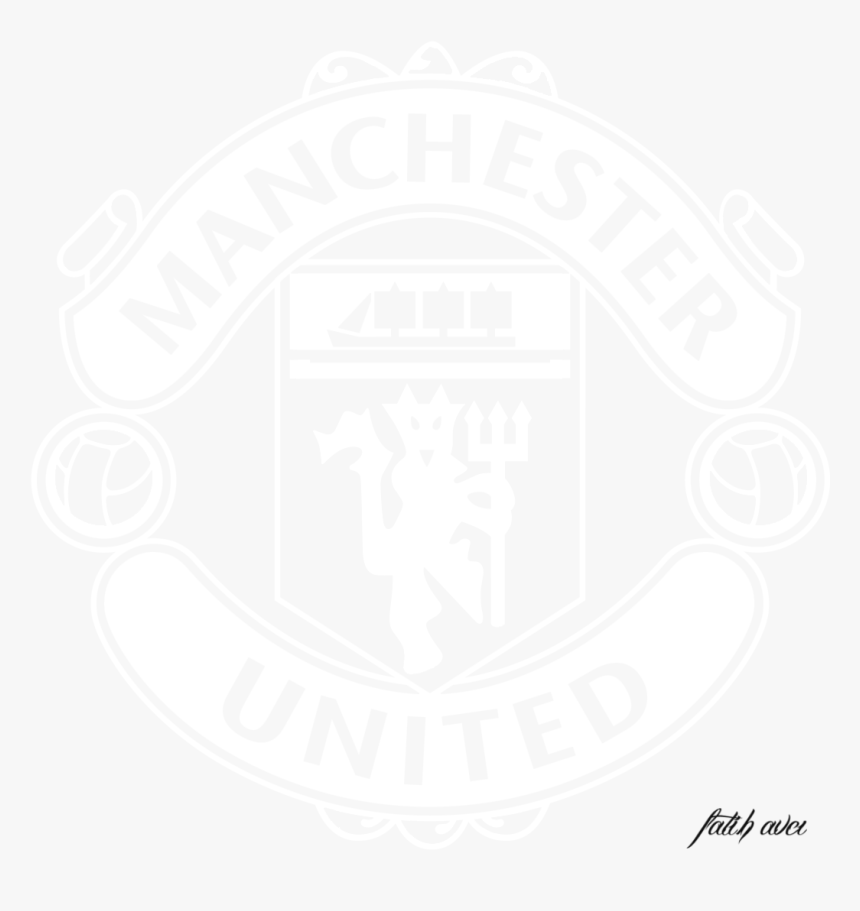 manchester united logo black and white vector png manchester united white logo png transparent png transparent png image pngitem manchester united white logo png