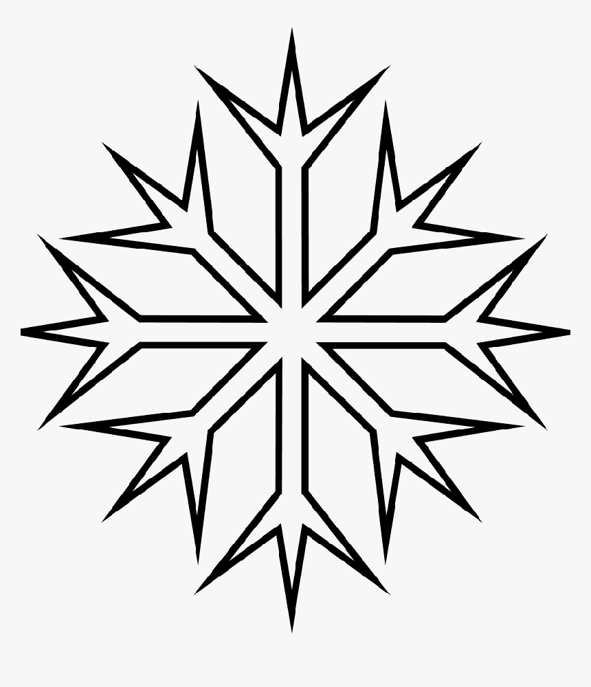 Christmas Snowflake Coloring Pages Page For Kids - Christmas ...   1000x860