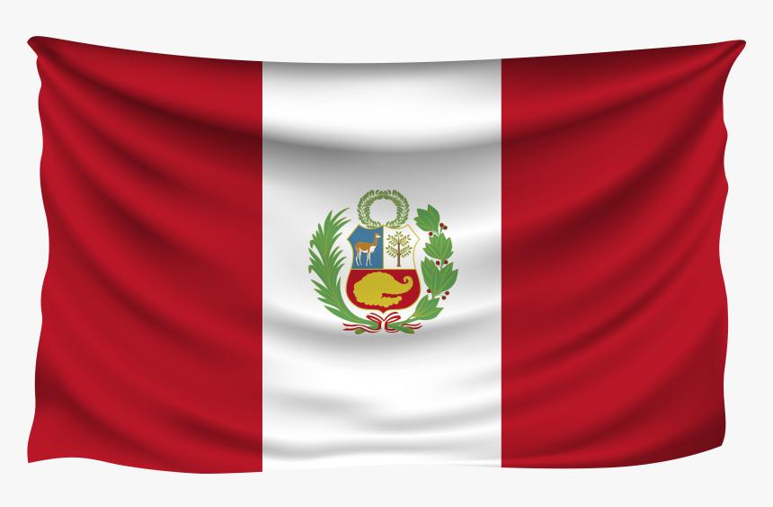 Peru Wrinkled Flag Bandera De Peru Wallpaper 4k Hd Png Download Transparent Png Image Pngitem