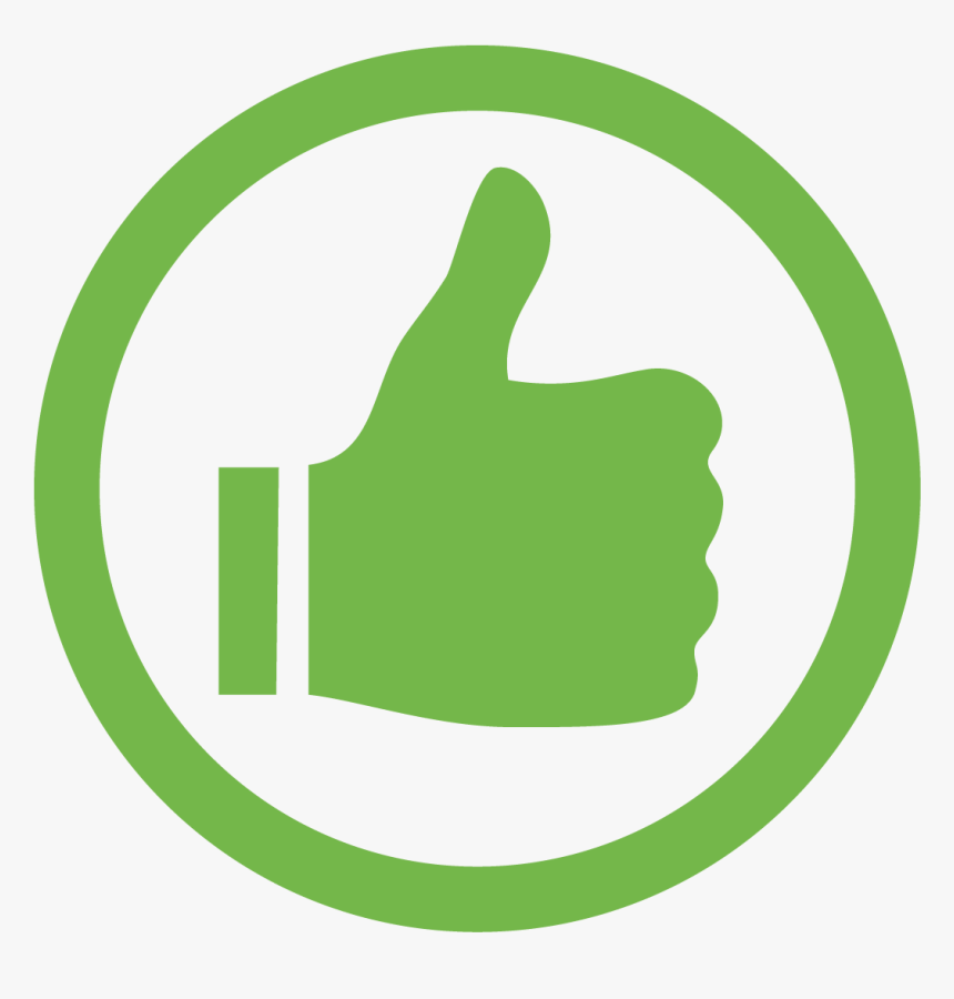 Icons Green Tick Images - Green Thumbs Up Png, Transparent Png ,  Transparent Png Image - PNGitem