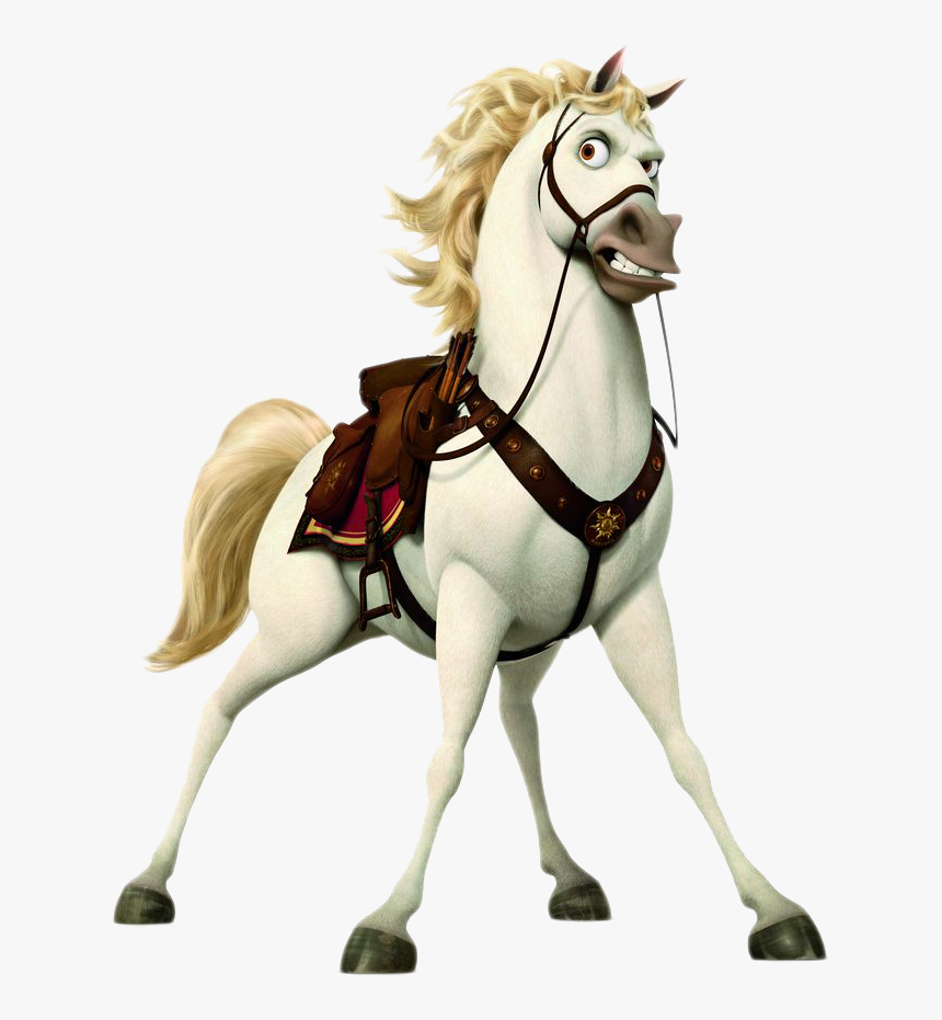 Horse Pony Game Video Rapunzel Tangled The Tangled 2010 Hd Png Download Transparent Png Image Pngitem