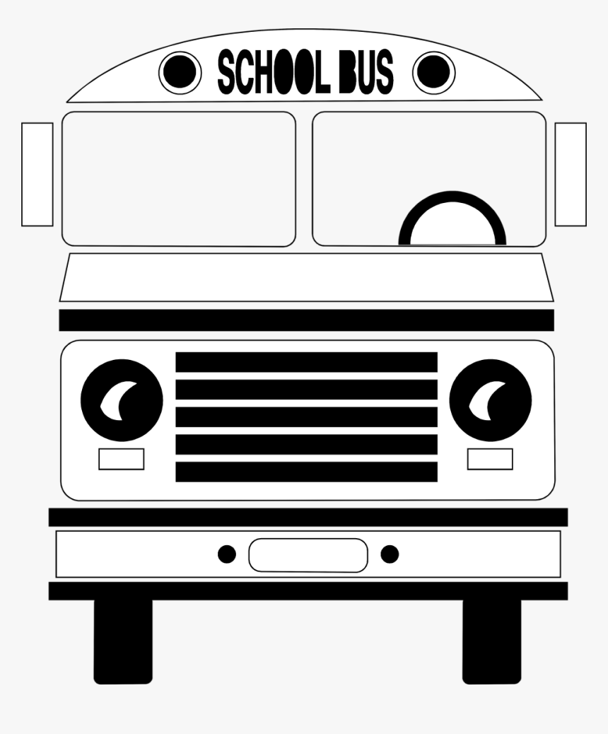 Bus Black And White Free School Bus Clipart Black And School