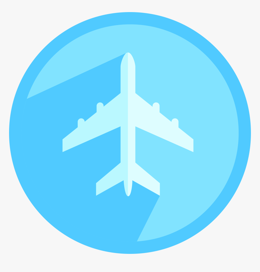 Airplane Circle Airplane Icon Png Transparent Png Transparent