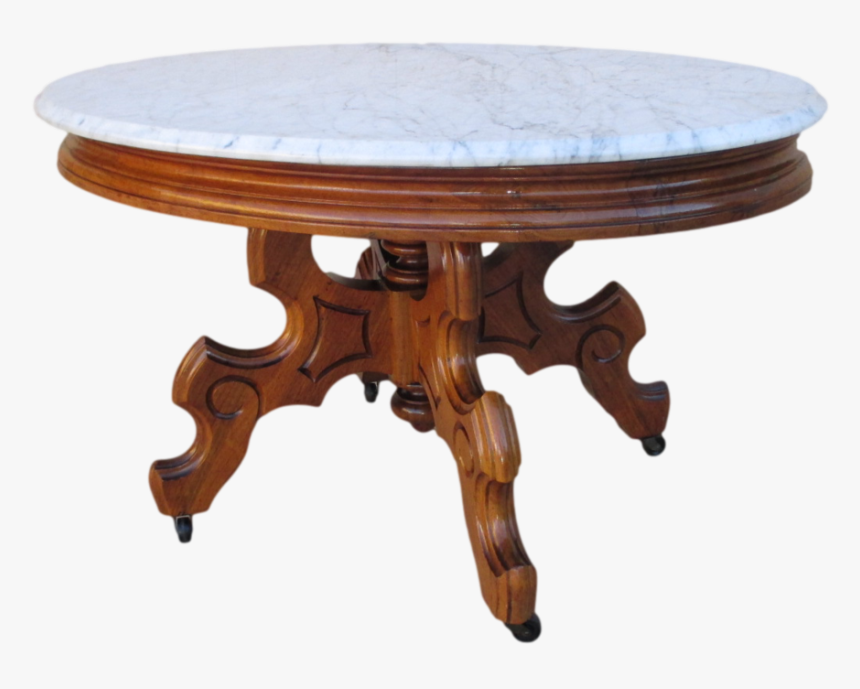 Clipart Table Table Top Antique Wood And Marble Coffee Table Hd