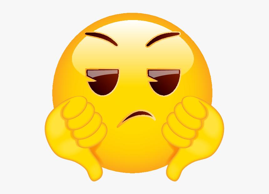 Two Thumbs Down Emoji, HD Png Download , Transparent Png Image - PNGitem