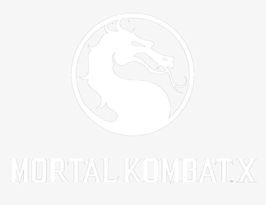 White Mortal Kombat Logo Png Transparent Png Transparent Png