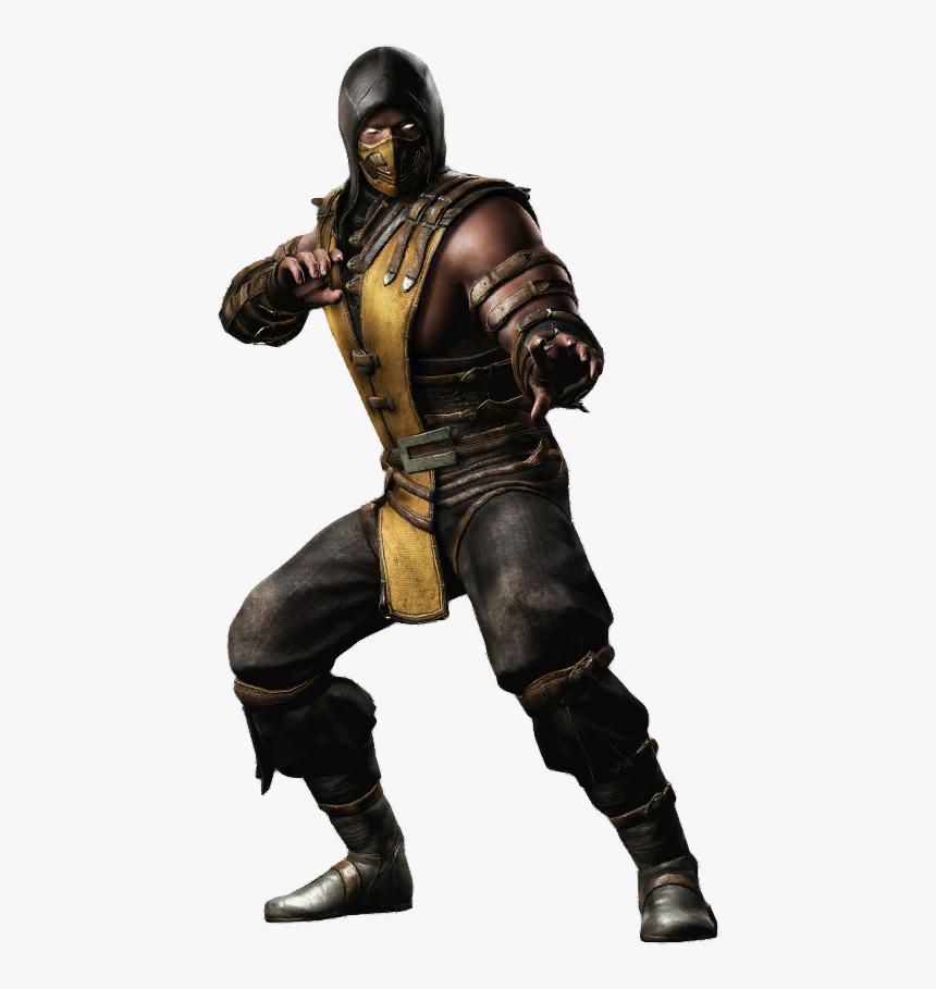 Scorpion Mortal Kombat X Png Transparent Png Transparent Png