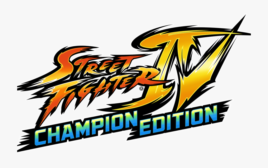 Street Fighter Iv Logo Png Street Fighter 4 Champion Edition
