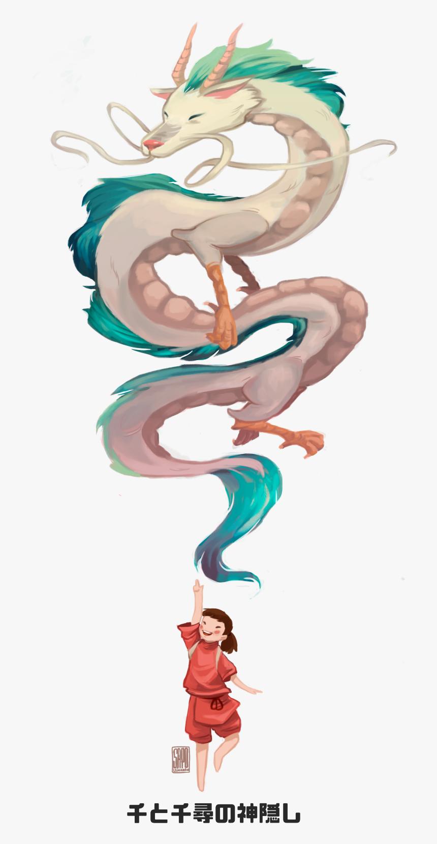 Spirited Away Dragon Transparent Hd Png Download Transparent Png Image Pngitem