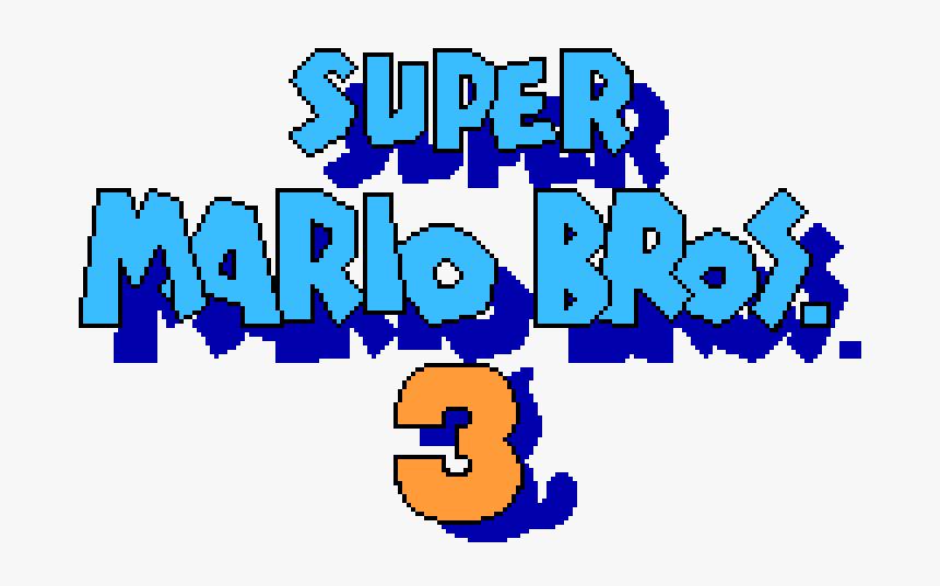 Transparent Mario Background Png Super Mario Bros 3 Title Screen Png Png Download Transparent Png Image Pngitem