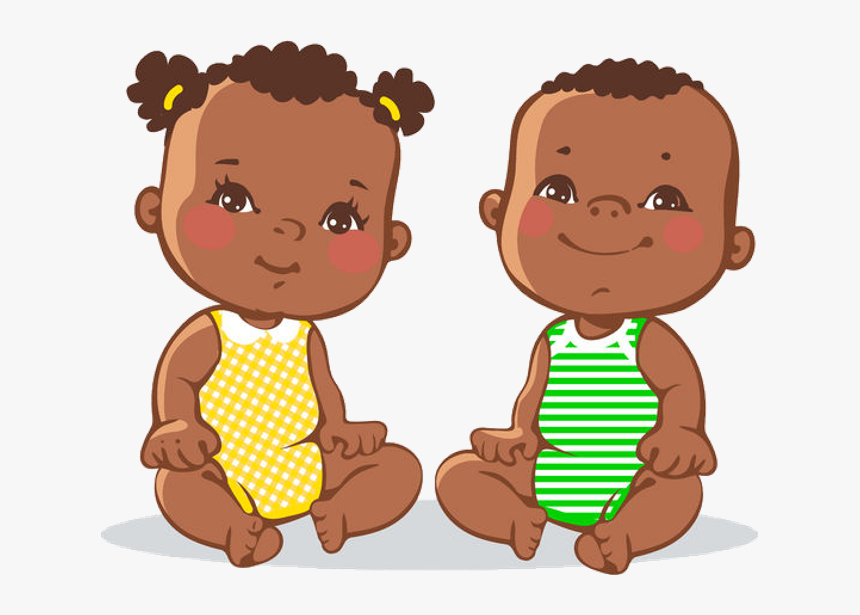 Hd Baby Cartoon Images Black Babies Clip Art Hd Png Download Transparent Png Image Pngitem
