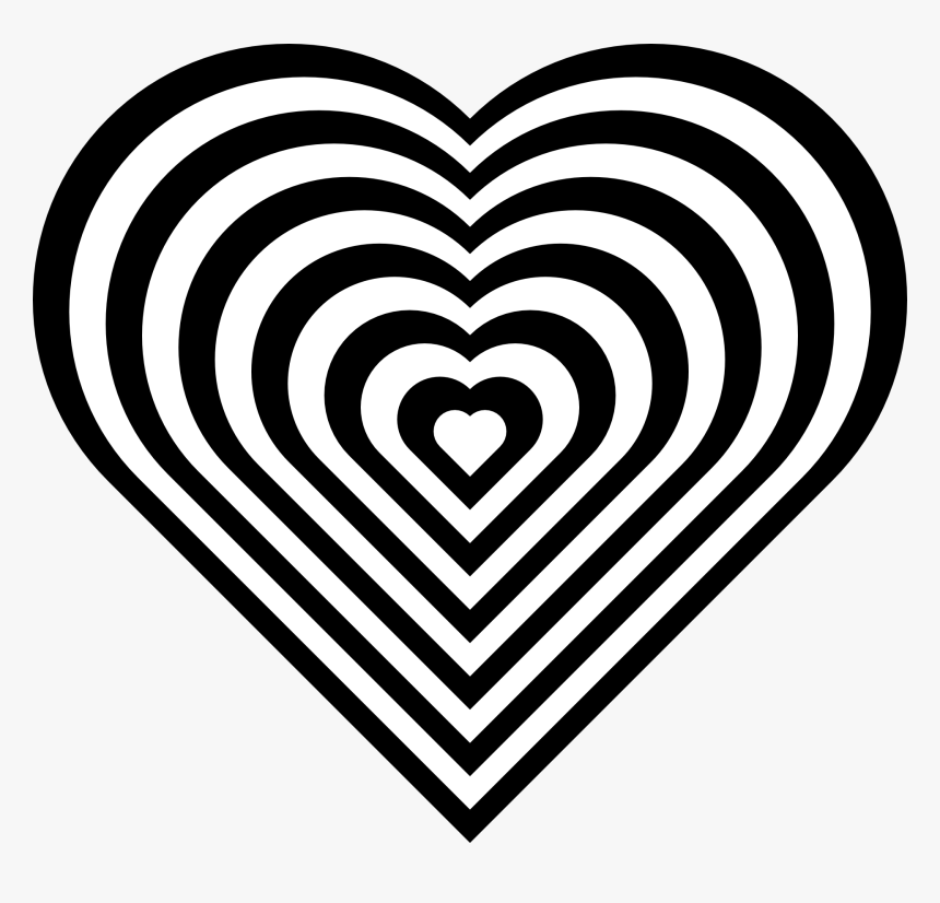 Love Heart Coloring Pages, HD Png Download , Transparent ...