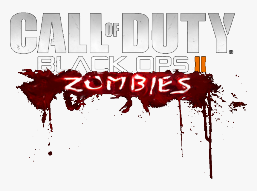 Call Of Duty Black Ops 2 Zombies Logo By Josael281999 Call Of Duty Black Ops 2 Zombies Logo Hd Png Download Transparent Png Image Pngitem
