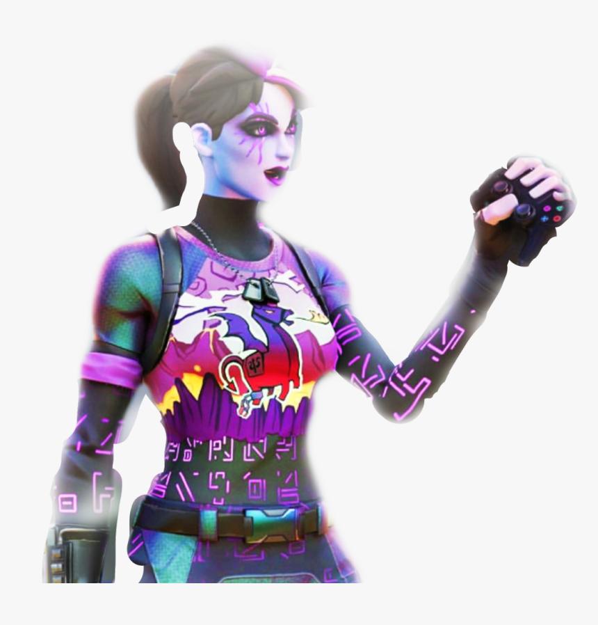 Dark Bomber Holding Xbox Controller