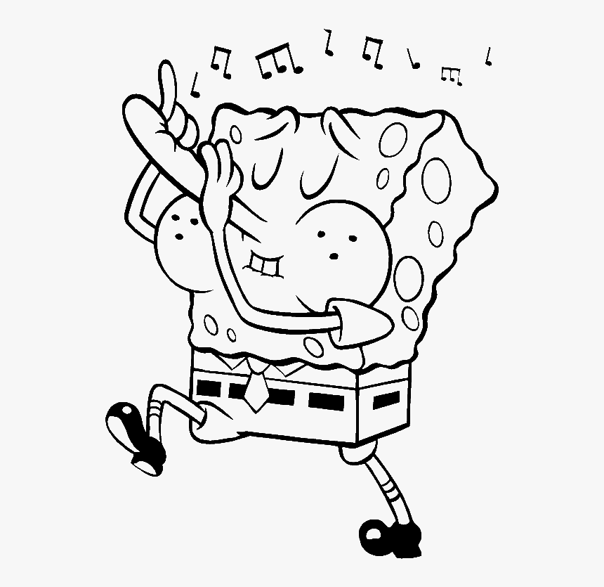 Jarvis Varnado: Face Nature Spongebob Coloring Pages | 835x860