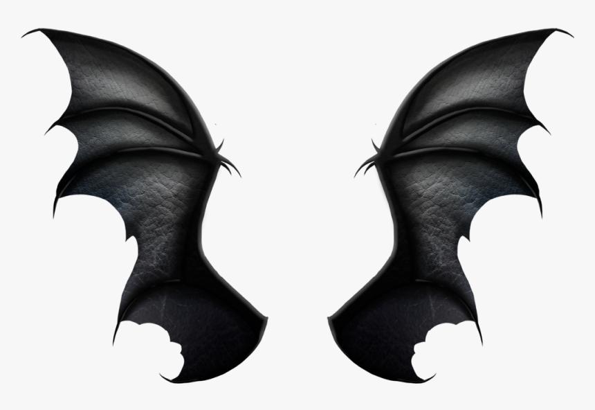 Transparent Bat Wings Clipart Black Realistic Dragon Wings Hd Png Download Transparent Png Image Pngitem