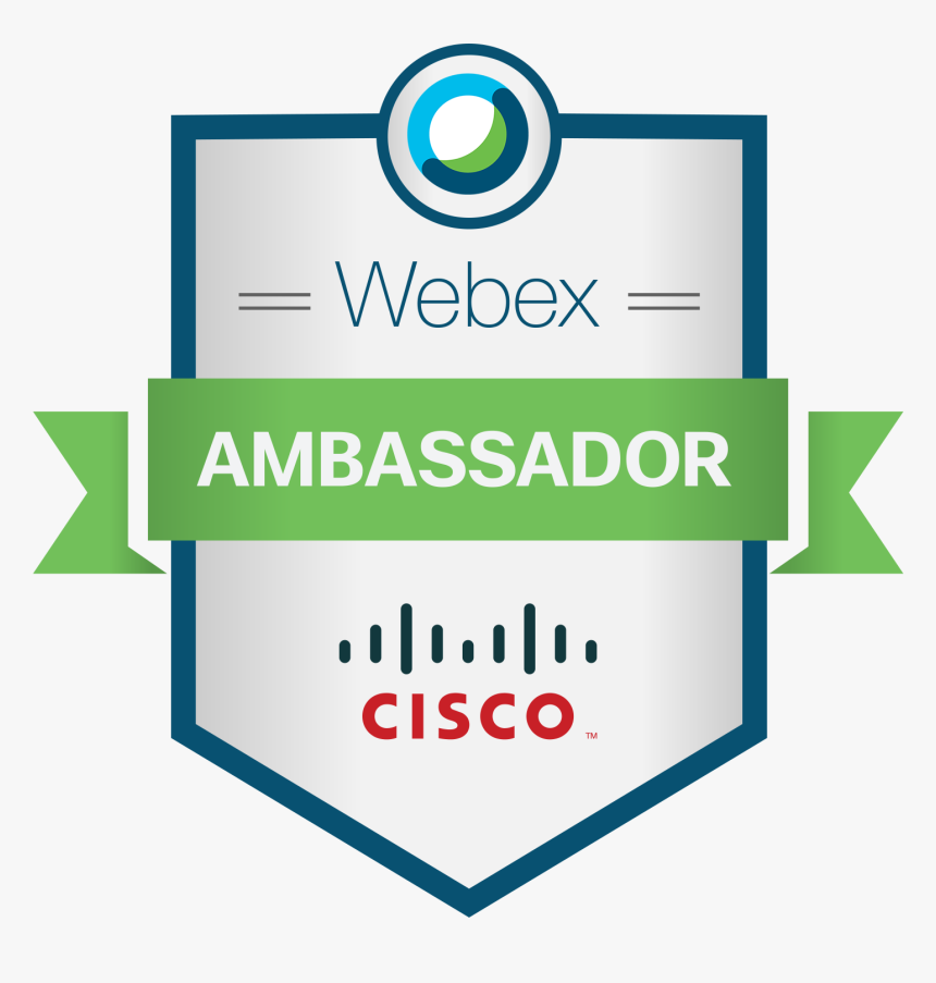Cisco Webex Teams Ambassador Hd Png Download Transparent Png