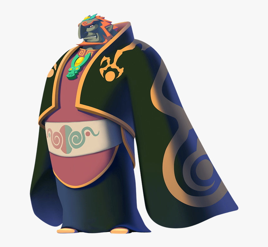 Transparent Good Vs Bad Clipart Zelda Ganondorf Wind Waker