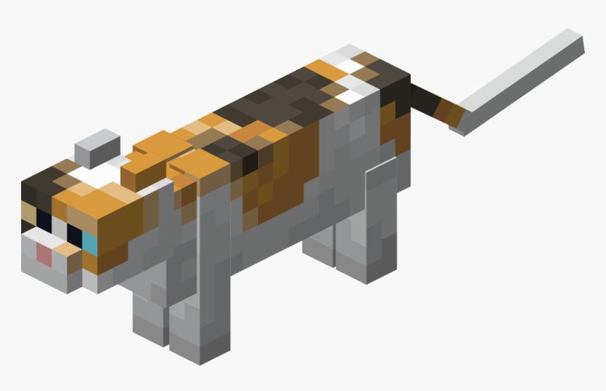 Minecraft Cat - Minecraft 1.14 Calico Cat, HD Png Download , Transparent  Png Image - PNGitem