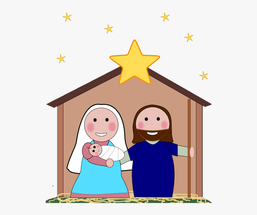 Free Nativity Clipart Silhouette Free