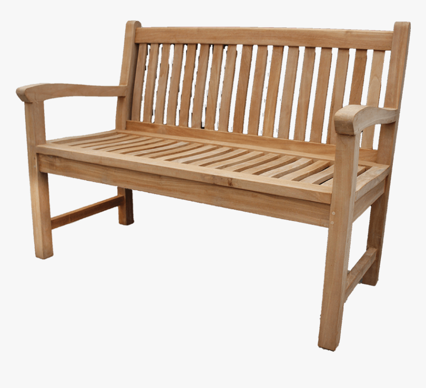 English Garden Bench Png Download Wood Bench Side View