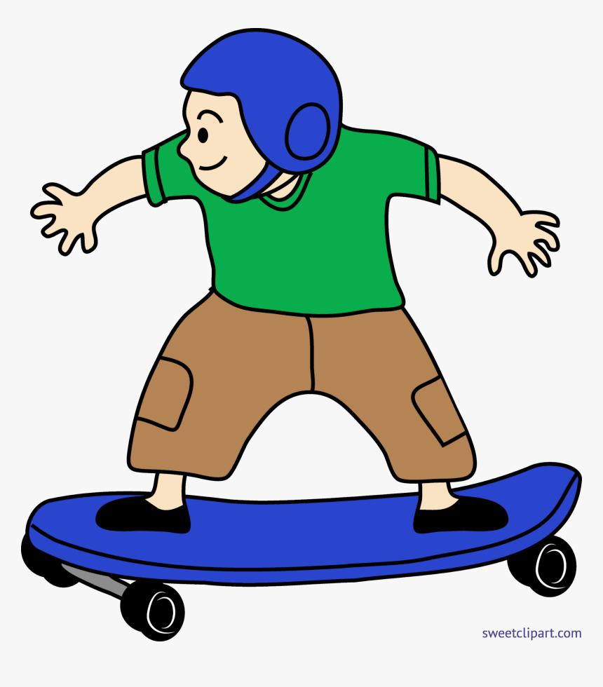 Skateboard Clip Art