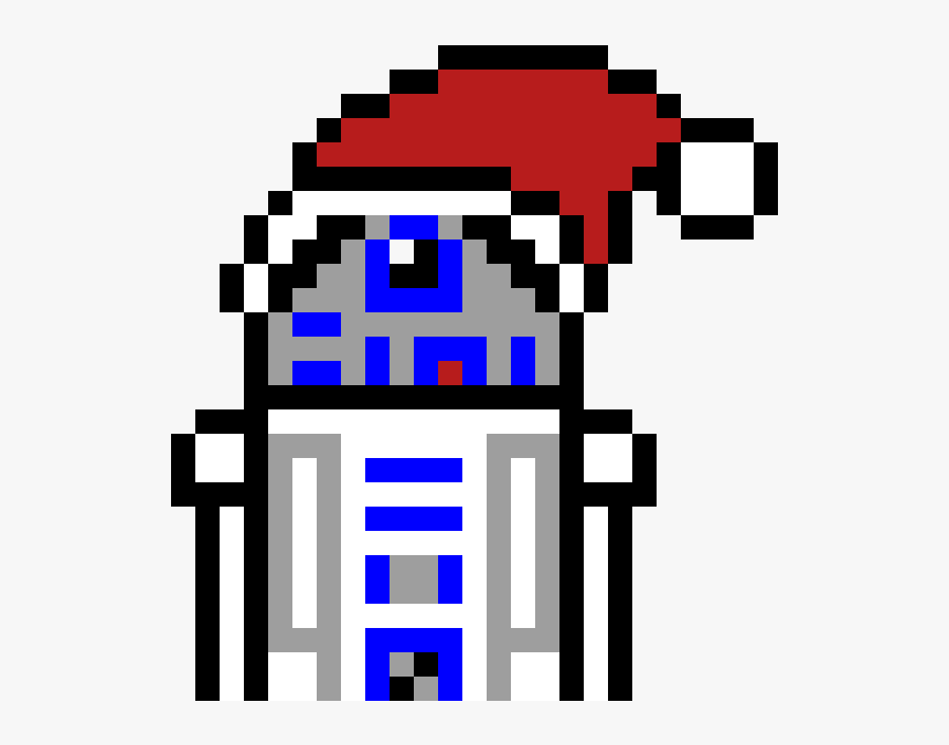 Transparent Rocky Balboa Clipart Pixel Art Star Wars R2d2