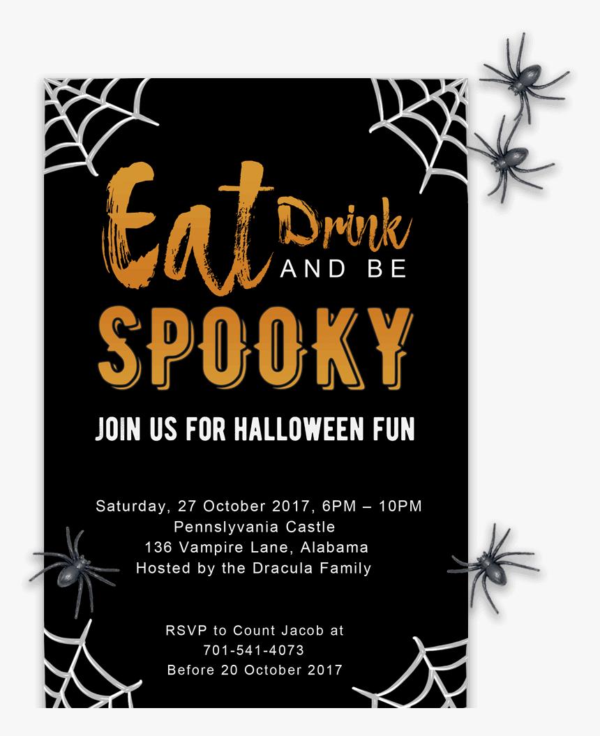 Clip Art Free Printable Halloween Invitations Editable Halloween Invitation Template Hd Png Download Transparent Png Image Pngitem