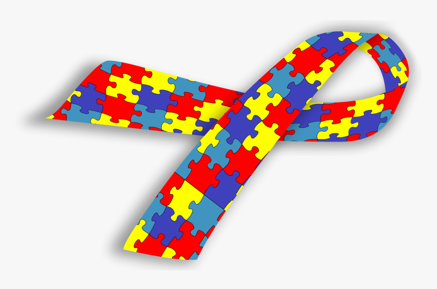 Autism Awareness Ribbon Autism Spectrum Disorder Ribbon Hd Png Download Transparent Png Image Pngitem