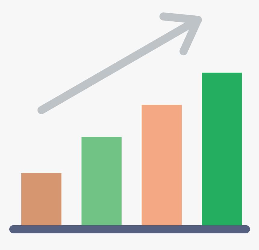 Increasing Graph Clip Art - Progress Clipart Transparent ...