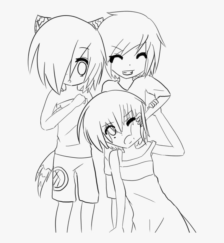 This is a graphic of Anime Girl Coloring Pages Printable within chibi