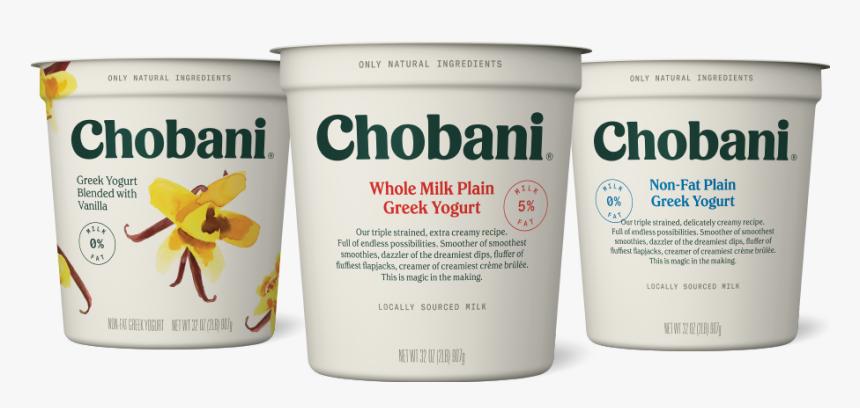 Chobani Plain Nonfat Greek Yogurt, HD